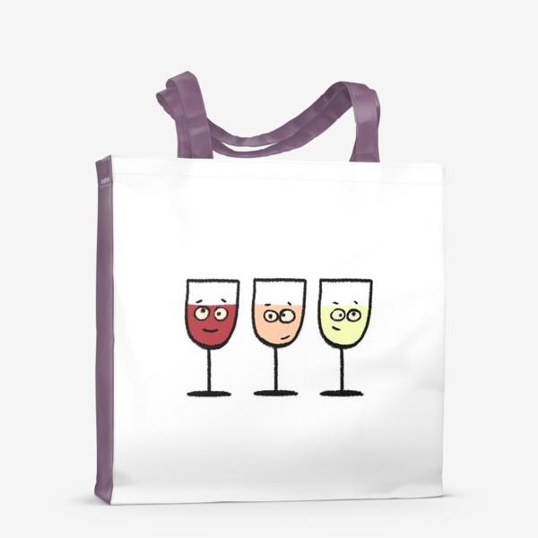 Сумка-шоппер «Вино»