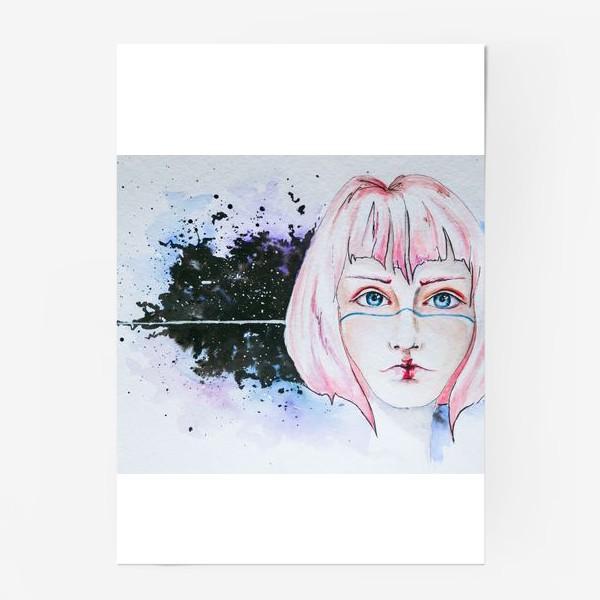 Постер «Девушка из космоса»