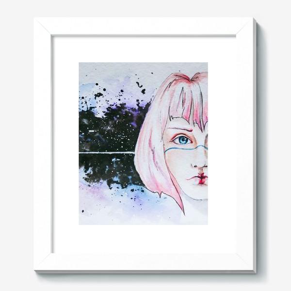 Картина «Девушка из космоса»