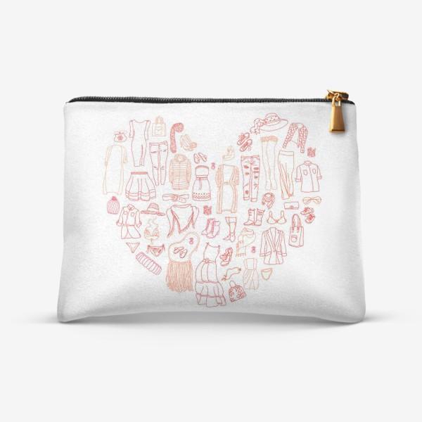 Косметичка «Любовь к шопингу»