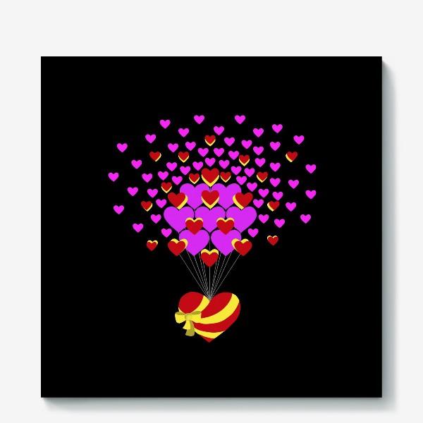 Холст «Цветущее сердце»