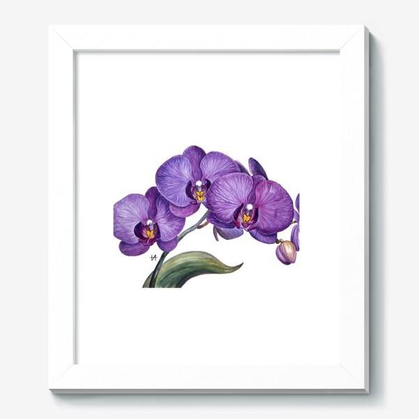Картина «Ветка орхидеи»