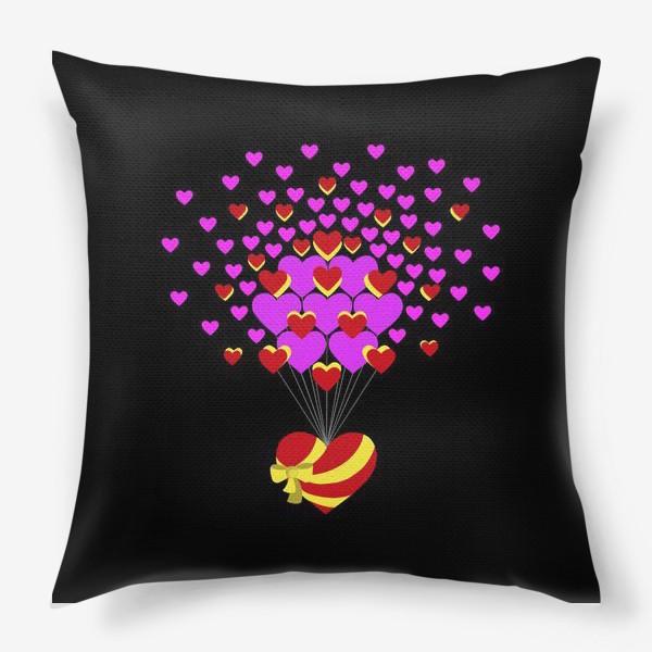 Подушка «Цветущее сердце»
