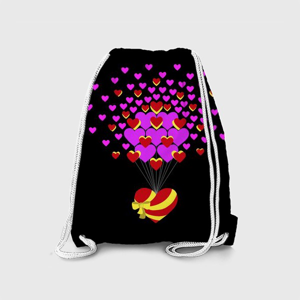 Рюкзак «Цветущее сердце»