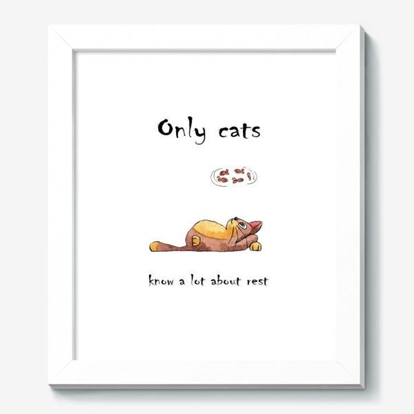Картина «Кот на отдыхе»