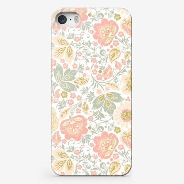 Чехол iPhone «Персиковый шик»