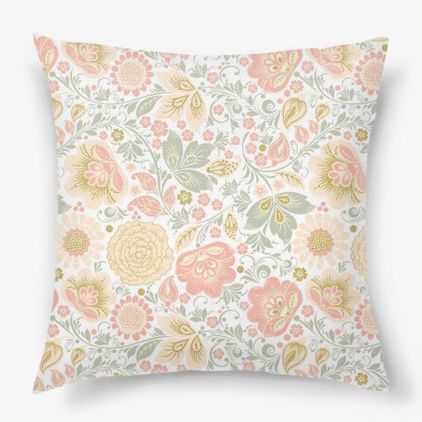 Подушка «Персиковый шик»