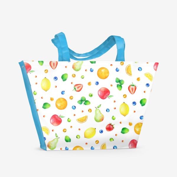 Пляжная сумка «Фруктовый коктейль»