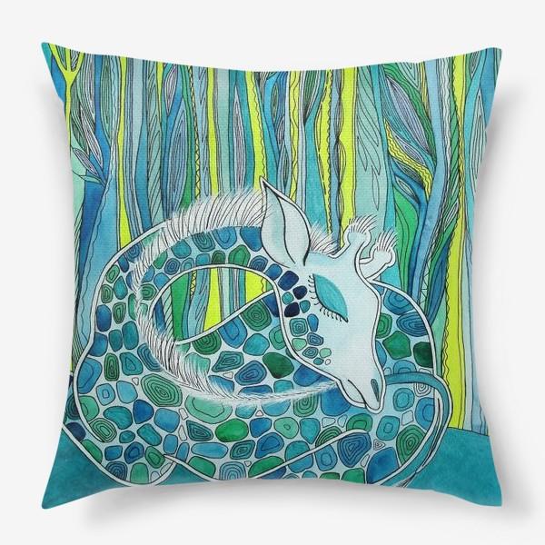 Подушка «Спящий Жираф»