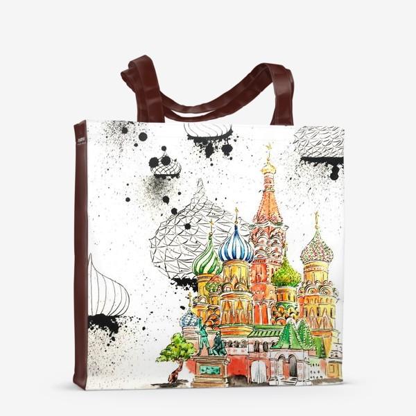 Сумка-шоппер «Храм Василия Блаженного»