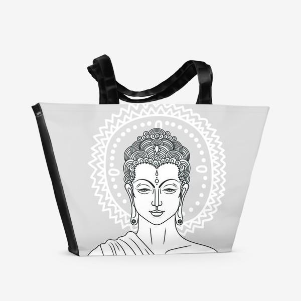 Пляжная сумка «Серебряный Будда»