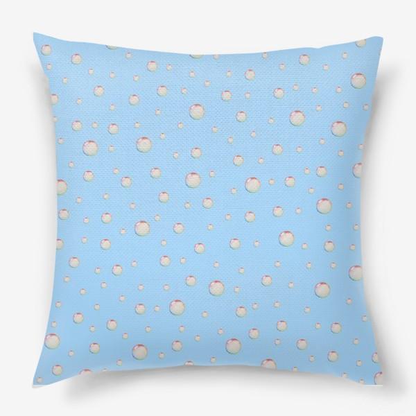 Подушка «Пузыри»
