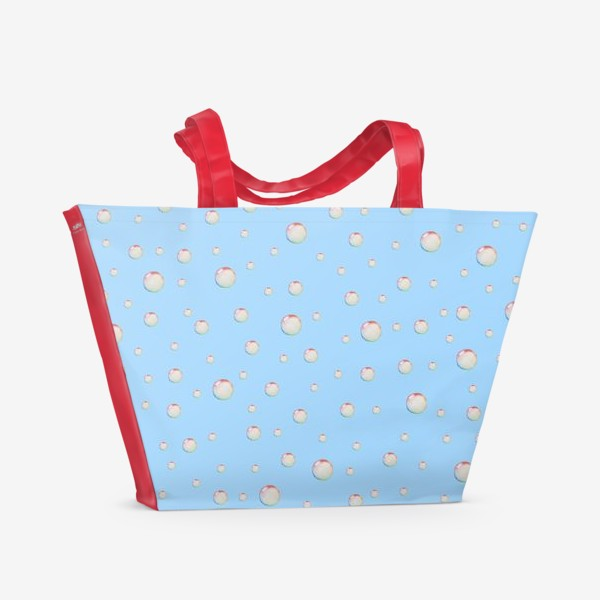 Пляжная сумка «Пузыри»