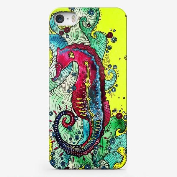 Чехол iPhone «Морской конек»