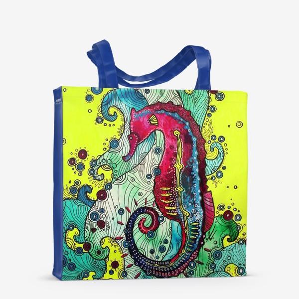 Сумка-шоппер «Морской конек»