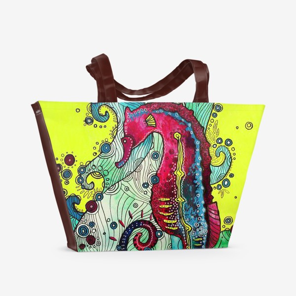 Пляжная сумка «Морской конек»