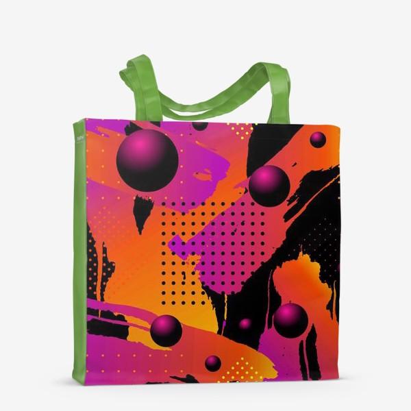 Сумка-шоппер «Абстрактный фон»