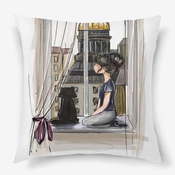 Подушка «Состояние души: Петербург»