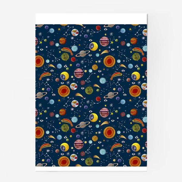 Постер «Межпланетный космический паттерн.»