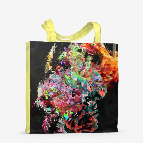 Сумка-шоппер «Абстрактный фейерверк»