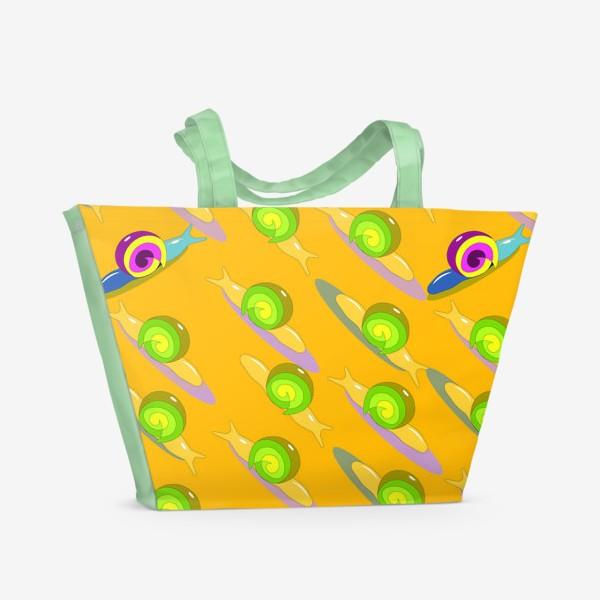 Пляжная сумка «улитки2»