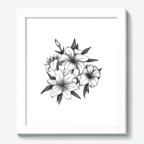 Картина «Лилии»