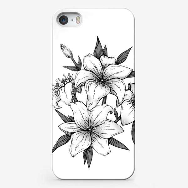 Чехол iPhone «Лилии»