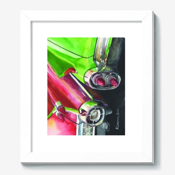 Картина «Two Cadillacs»
