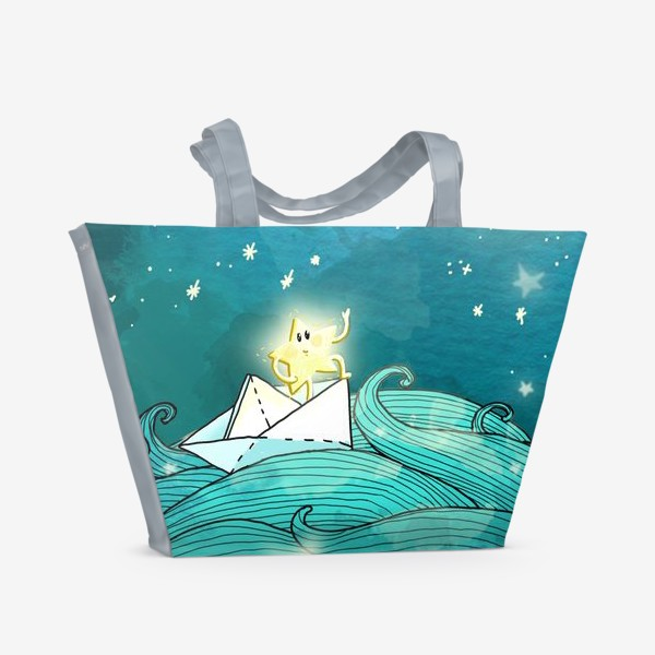 Пляжная сумка «Путешествие звезды»