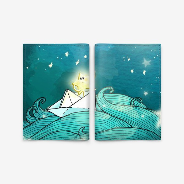 Обложка для паспорта «Путешествие звезды»