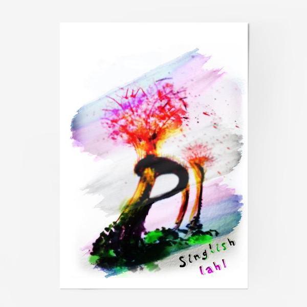 Постер «Singlish LAH»