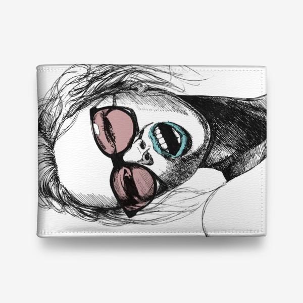 Кошелек «Девушка в розовых очках»