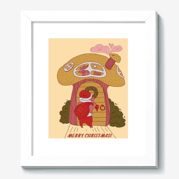 Картина «символ года Хрюшка»