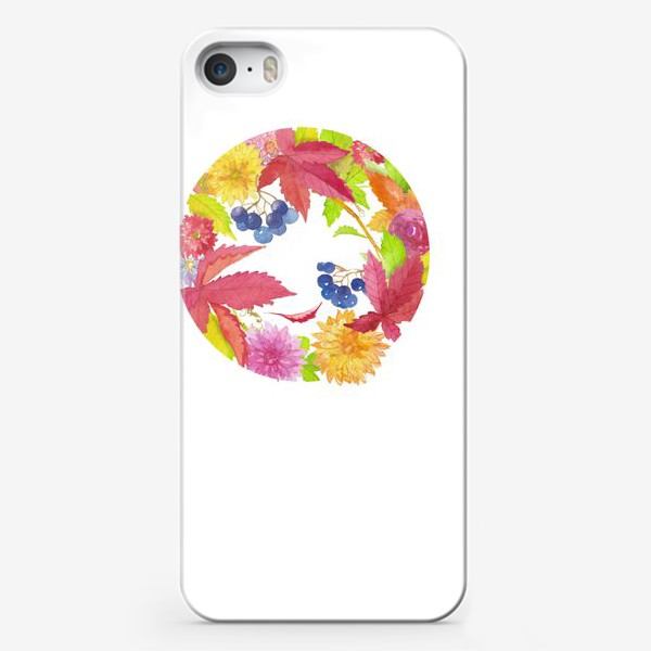 Чехол iPhone «Осень - не повод для грусти»