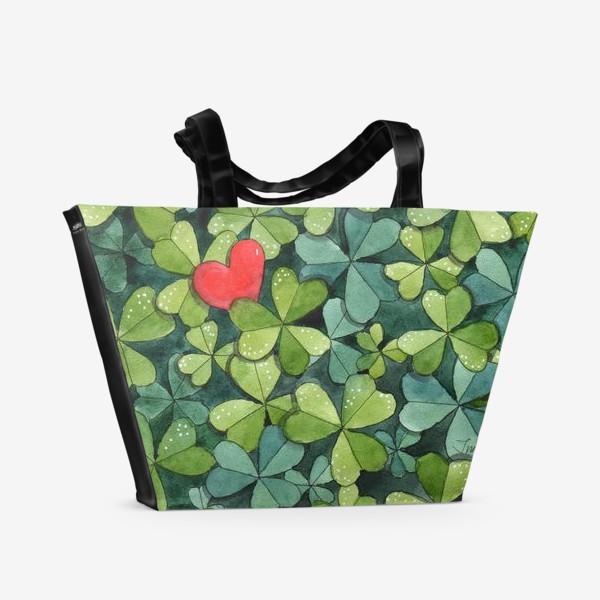 Пляжная сумка «На удачу»