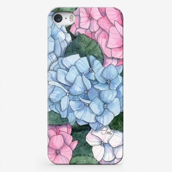 Чехол iPhone «Гортензии»