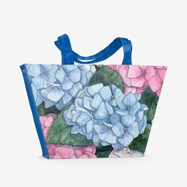 Пляжная сумка «Гортензии»