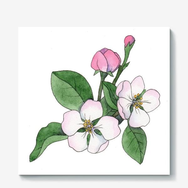 Холст «Яблоня»