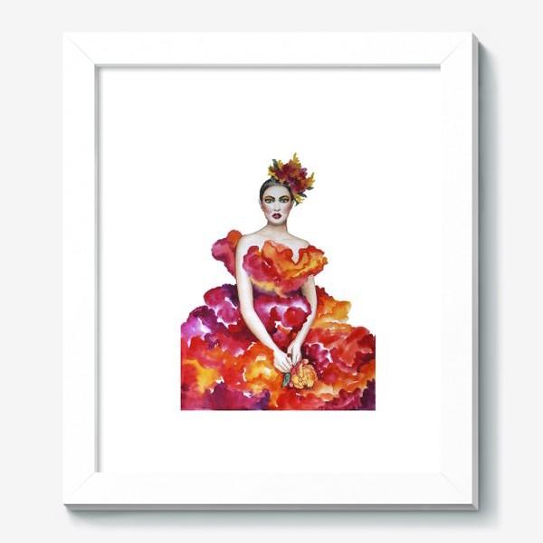 Картина «Девушка-Осень»