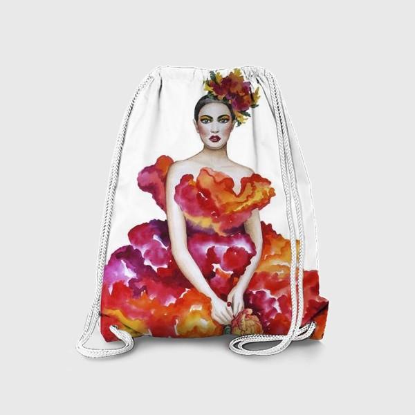 Рюкзак «Девушка-Осень»