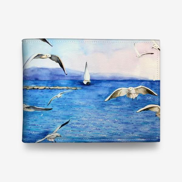 Кошелек «Морские чайки»