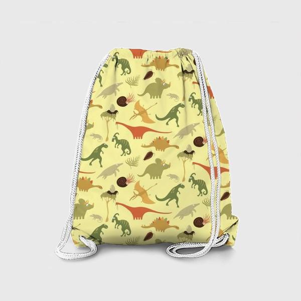 Рюкзак «Динозаврики»