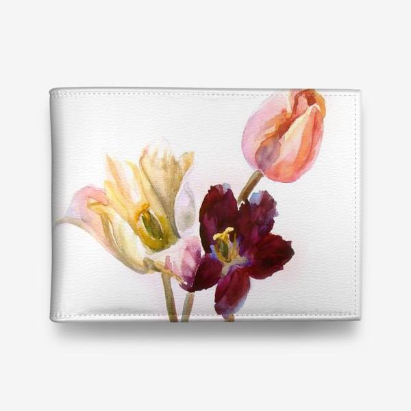 Кошелек «Тюльпаны»