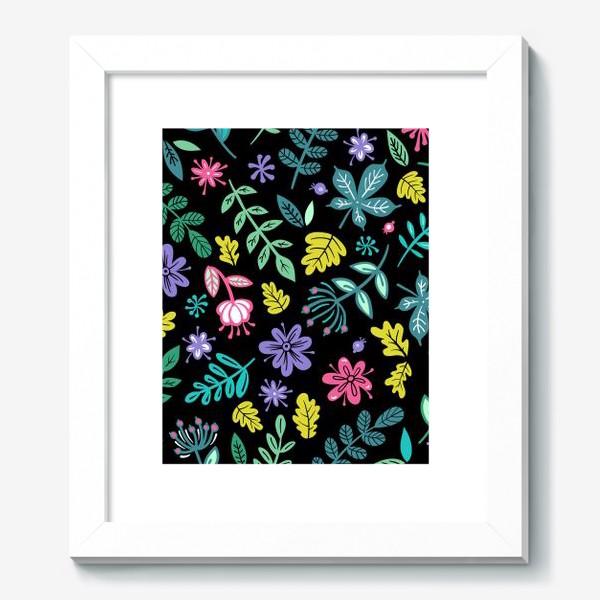 Картина «Цветочная ночь»