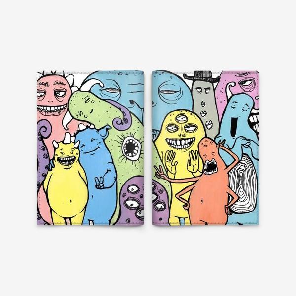 Обложка для паспорта «монстромания»