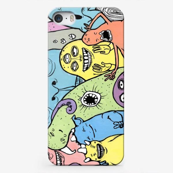 Чехол iPhone «монстромания»