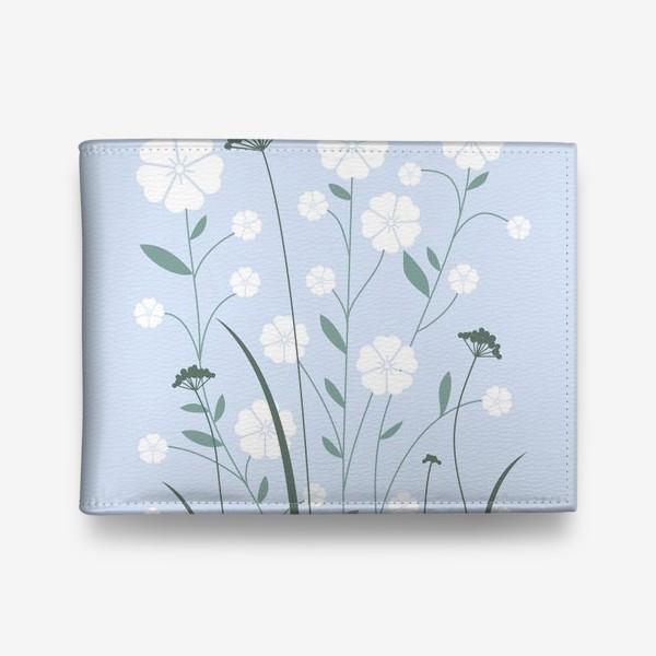 Кошелек «Белые цветы»