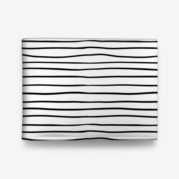 Кошелек «Черно-белые полоски»