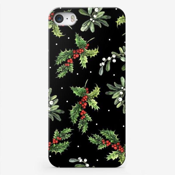Чехол iPhone «Рождественский паттерн»