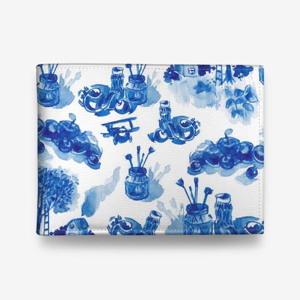 Кошелек «Лето в синих тонах»